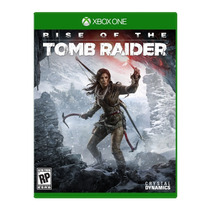 Rise Of The Tomb Raider Xbox One Português Mídia Física Novo