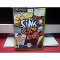 The Sims Bustin Out Xbox Primeira Geração Completo