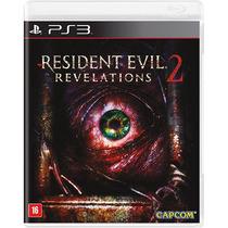 Jogo Resident Evil Revelations 2 Ps3 Midia Fisica Lacrado Nf