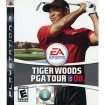 Tiger Woods Pga Tour 08 - Jogo Ps3