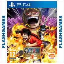 One Piece Pirate Warriors 3 - Ps4 - Midia Fisica