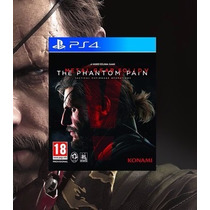 Metal Gear Solid V The Phantom Pain Ps4 Original 2