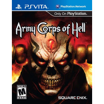 Jogo Game Army Corps Of Hell Ps Vita Sony Original Lacrado