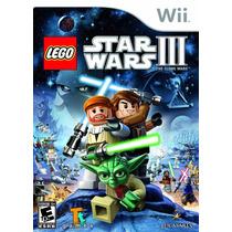 Lego Star Wars 3 The Clone Wars Wii Original