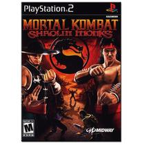 Mortal Kombat ( Shaolin Monks ). ! Jogos Ps2