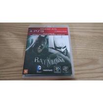 Pacote Duplo Batman Arkham Asylum E Arkham City Goty - Ps3
