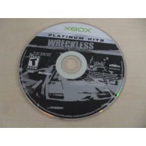Wreckless The Yakuza Missions Xbox Original Somente O Disco