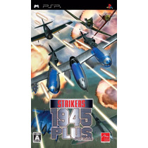 Strikers 1945 Plus Portable Psp Novo Original Lacrado A5754