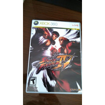 Jogo Street Fighter 4 - Xbox-360 - Original