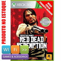 Red Dead Redemption Xbox 360 Platinum Hits Lacrado Original