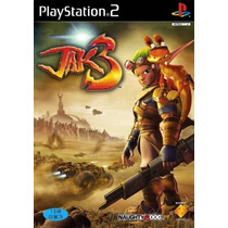 Jogo Video Game Ntsc Ps2 Jak3 Sony Original