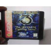 Fita Cartucho Mortal Kombat 3 Ultimate Mega Drive