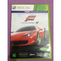 Forza 4 Xbox 360 Impecável Em Português