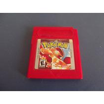 Pokemon Red Original Para Game Boy, Color, Adv,sp