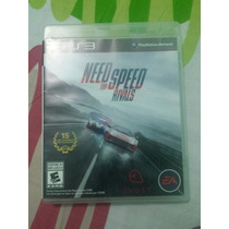 Need For Speed Rivals (jogo Original Ps3 Mídia Física) Pt