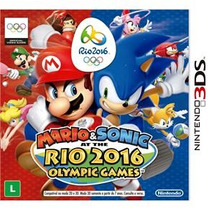 Mario & Sonic At The Rio 2016 Olympic Games 3ds Mídia Física