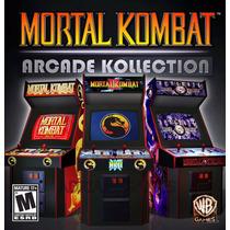 Mortal Kombat Arcade Kolection Jogos Ps3 - Mídia Digital Psn