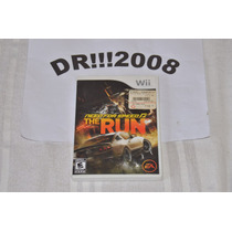 Need For Speed The Run Original E Completo P/ Nintendo Wii!