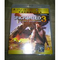 Ps3 Uncharted 3: Drake