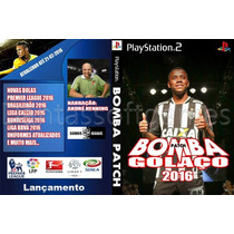 Patch Pes 2016 + Bomba Patch 2016 Ps2 16-03-2016 Link Ou Dvd
