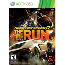 Need For Speed The Run Original Xbox 360