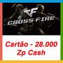 Crossfire Jogo Pc - Cartão De 28.000 Zp Cash -envio Imediat