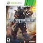 Jogo Transformers Dark Of The Moon Para Xbox 360 A6423