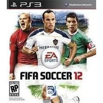 Jogo Semi Novo Fifa Soccer 12 Para Ps3 Impecável