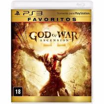 God Of War Ascension Ps3 - Mídia Física Em Português