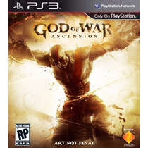 Ps3 - God Of War Ascension - Disco Original