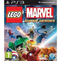 Lego Marvel Super Heroes Ps3 Original Lacrado A5524