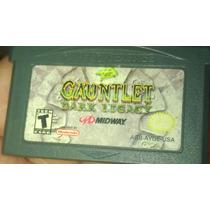 Fita Gameboy Advance Sp Ds Lite Micro Gauntlet Dark Legacy