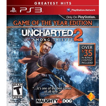 Uncharted 2 Among Thieves Ps3 Dublado Br