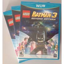 Lego Batman 3 Wii U - Nintendo Wiiu - Lacrado