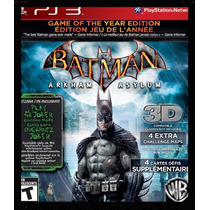 Batman Arkhan Asylum - Game Of The Year -49,00 Frete Grátis