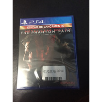 Jogo Original Metal Gear Solid V Ps4 Lacrado Ptbr Day One Ed