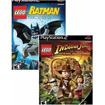 Patch 2games Lego Batman+ Indiana Jones Patch Play2
