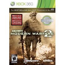 Call Of Duty: Modern Warfare 2 - Xbox 360 - Pronta Entrega!