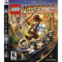 Lego Indiana Jones 2 Ps3 Playstation 3 Novo Lacrado