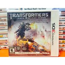 Jogo Transformers Dark Of The Moon Nintendo 3ds Lacrado