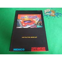 Manual Top Gear 3000 Para Super Nintendo