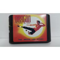 Jogo Mega Drive Dragon The Bruce Lee Story Sega Genesis