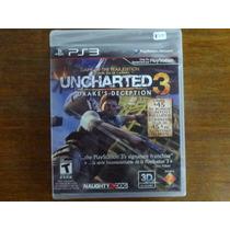Uncharted 3 Drakes Deception 3d Lacrado