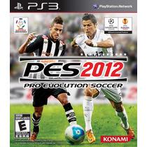 Pes 2012 Pro Evolution Soccer - Xbox 360 (ótimo Estado)