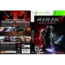 Xbox 360 - Ninja Gaiden 3 - Míd Fís - Lacrado - Original