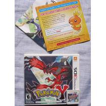Pokemon Y - Nintendo 3ds - Região Usa