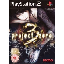 Jogo Ps2 - Project Zero 3 - The Tormented