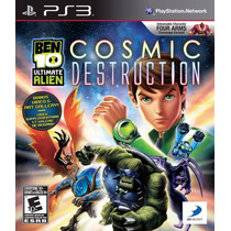 Jogo Ps3 Ben 10 Ultimate Alien Cosmic Destruction Original