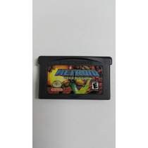 Jogo Gameboy Advance Metroid Zero Mission Nintendo Fita