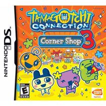 Jogo Nintendo Ds Tamagotchi Connection Corner Shop3 Original